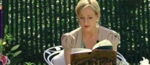 A escritora britânica J.K.Rowling