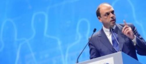 Angelino Alfano Ministro dell'Interno
