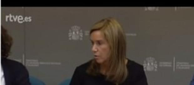 Ana Mato, ministra española de sanidad.