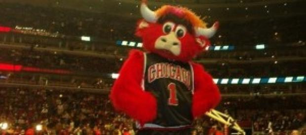 Benny Bull, mascota del equipo.
