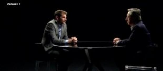 Casillas y Gabilondo en la entrevista. Foto: Ara