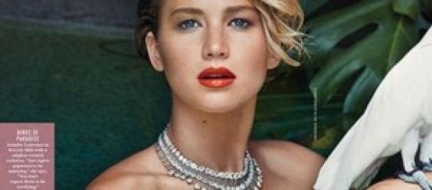 Jennifer Lawrence muestra su cuerpo al desnudo