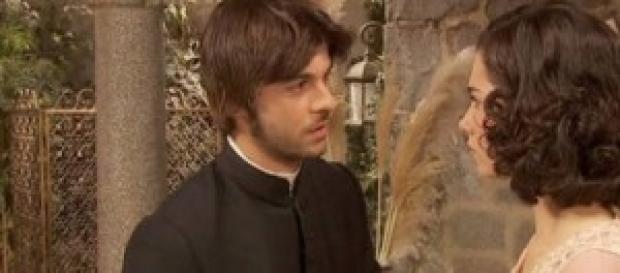 Martin sostiene il rapporto di Auora e Conrado