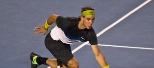 Rafael Nadal, con principio de apendicitis