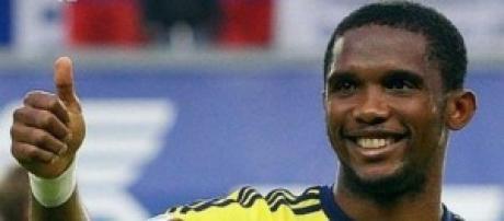 Samuel Eto'o attaccante camerunense