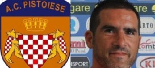 Cristiano Lucarelli allenatore della Pistoiese