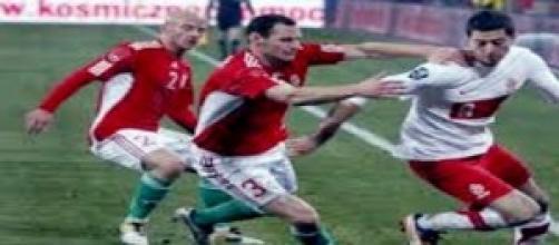 La Polonia di Lewandowski contro la Germania