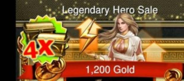 Game of War Fire Age - Compras com ouro virtual