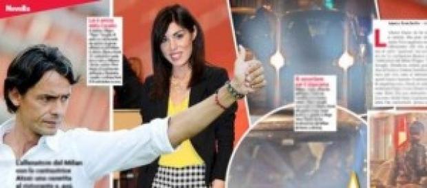 Gossip news. Pippo Inzaghi insieme a Bianca Atzei.