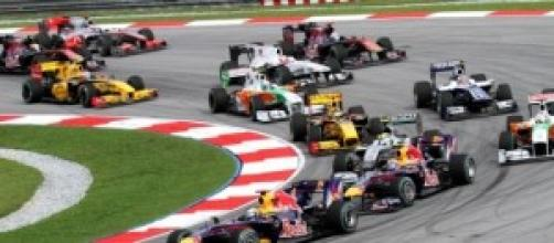 Imagen del Gran Premio de Malasia 2010.
