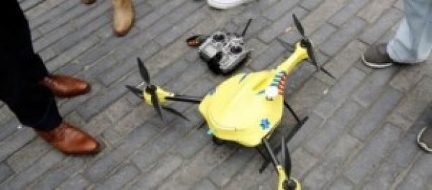 Drone ambulancia salvaría diez veces más vidas.