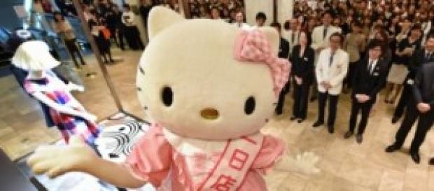 Hello Kitty celebra su 40 cumpleaños.