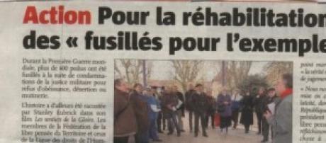 La France veut laver son honneur