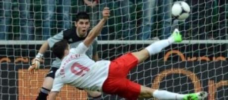 Lewandowski attaccante polacco del Bayern Monaco