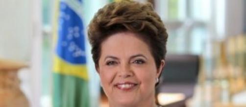 Dilma Roussef, presidente do Brasil