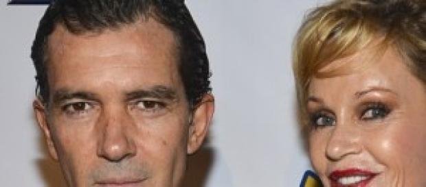 Melany Griffith y Antonio Banderas