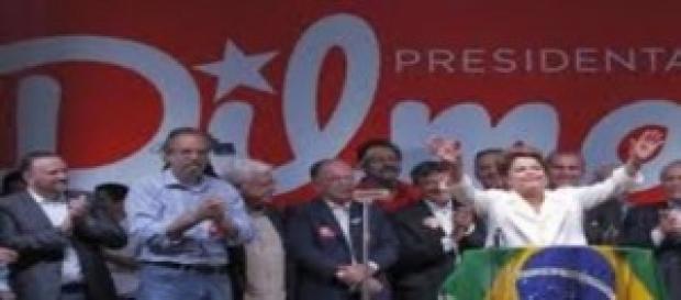 Presidenta Dilma Roussef reeleita