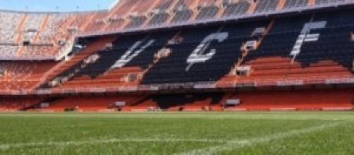 El nuevo césped que lucirá Mestalla