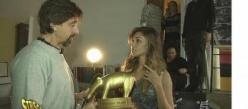 Gossip news: Tapiro d'oro per Belen Rodriguez.