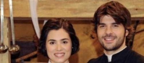 Maria e Gonzalo foto Il segreto