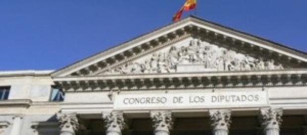 Congreso de los diputados en España