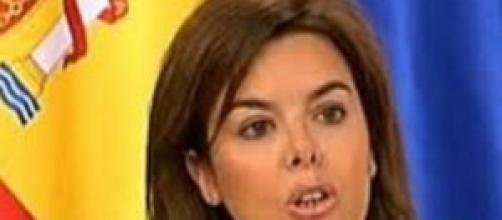 Soraya Sáez, vicepresidenta del Gobierno