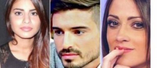 Uomini e donne gossip news: Cinzia, Fabio, Teresa.