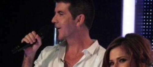 X factor UK judges Simon and Cheryl
