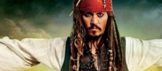 El famoso pirata Jack Sparrow