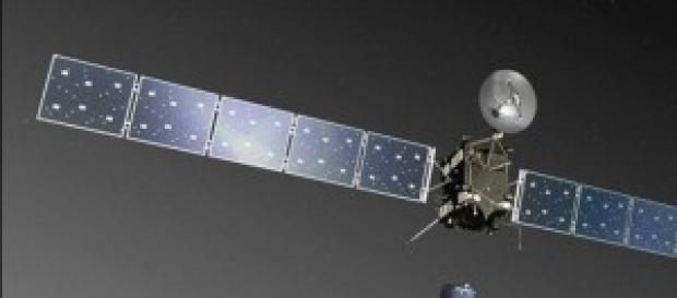 Il lander Philae si stacca dalla sonda Rosetta