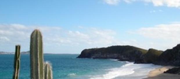 Praia do Abricó, paraíso dos naturistas