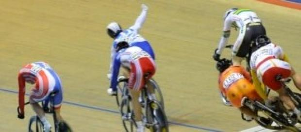 Track cycling championship
