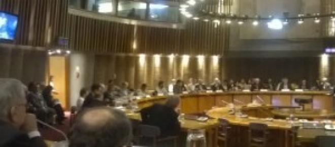 Salón Raúl Previch, sede CEPAL-ONU