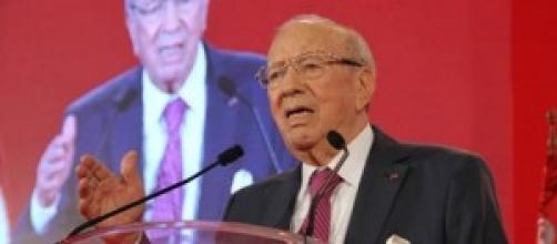 Béji Caid Sebsi dans sa campagne électorale