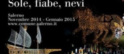 Locandina Luci d'Artista Salerno edizione 2014
