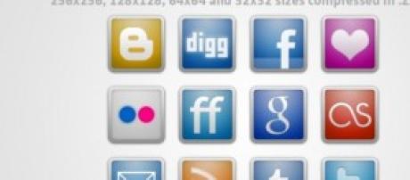 socialmedia logos and icons