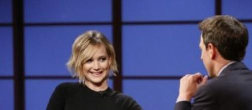 Jennifer Lawrence entrevistada por David Letterman