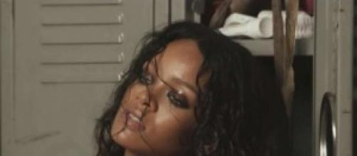 Rihanna in una delle foto su Empire