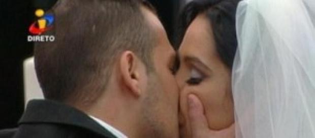 Casamento de Inês e Hugo na Casa dos Segredos 5