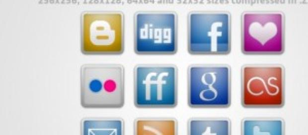 socialmedia logos and icons