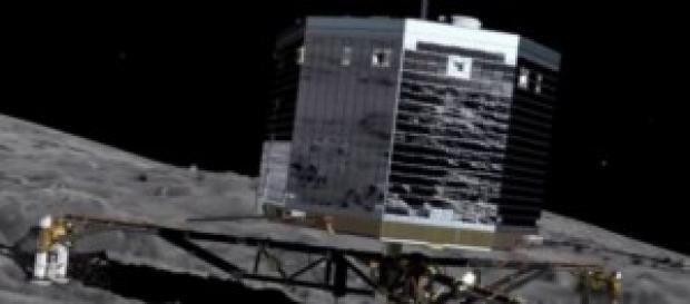 Sonda espacial Philae, en el Cometa