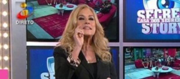 Teresa Guilherme, apresentadora Casa dos Segredos