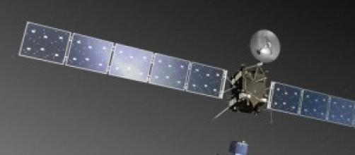 Animazione del  lancio della sonda Rosetta