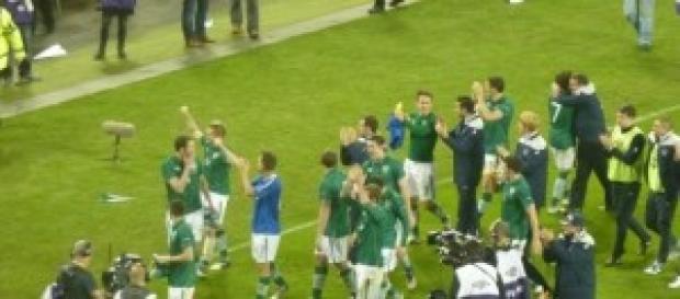 Ireland football team players