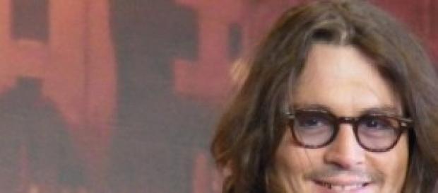 Johnny Depp celebre attore statunitense