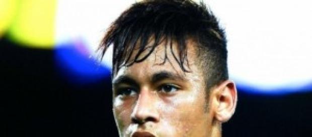 Neymar jr con el Barcelona.