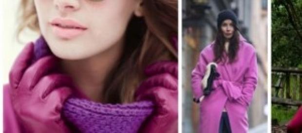 Púrpura y rojo: los colres del otoño/invierno