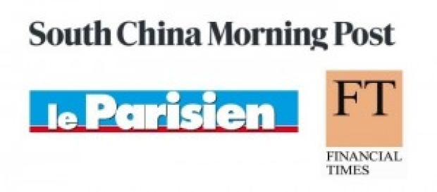 South China Morning Post, Le Parisien e FT