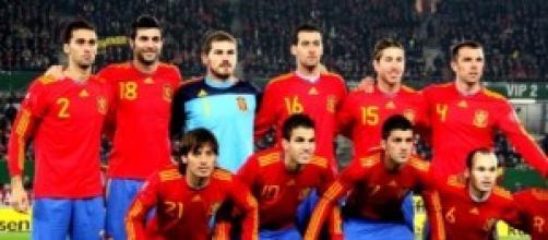 España vence ante la Bielorusia