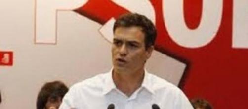 Pedro Sanchez, dirigente del PSOE